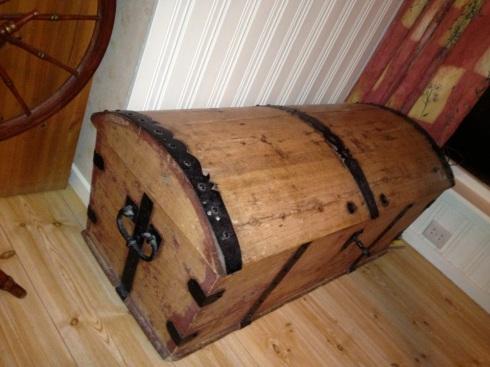 Kistebrevene - i denne kisten ble det funnet brev fra 1700-tallet